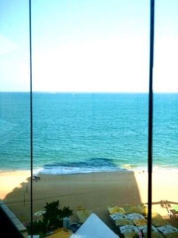 O melhor 2 quartos na Praia da Costa - Amplo e Alto Luxo na Av Gil Veloso - Vista Frontal!