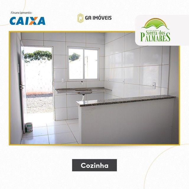 Lindas casas novas em Palmares, Pernambuco, 2 quartos, amplo quintal por apenas 130mil! - Foto 7