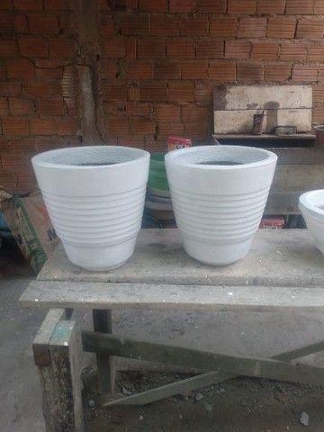Vasos de cimento para plantas - Foto 6