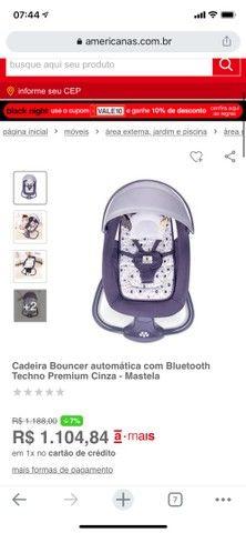 Cadeirinha de Balanço automática - cadeira de bebê vibra música bluetooth - Foto 3