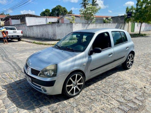 CLIO 2005 COMPLETO PRONTISSIMO PRA USO ( TROCO - VENDO - FINANCIO ATE 60x )  - Foto 2