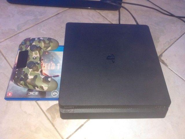 PS4 slim estado de zero - Foto 3