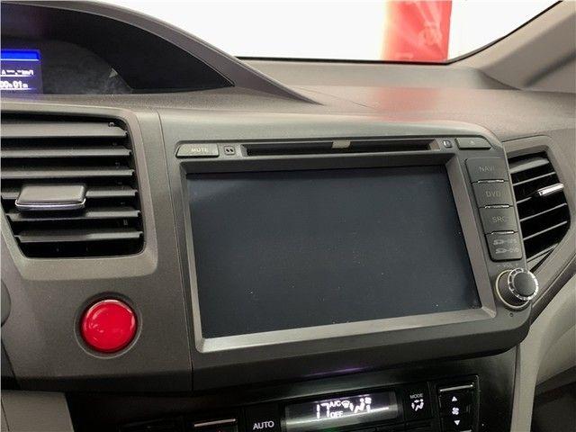 Honda Civic 2014 1.8 lxs 16v flex 4p automático - Foto 9