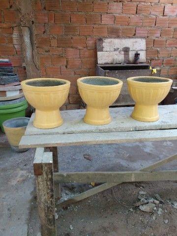 Vasos de cimento para plantas - Foto 2