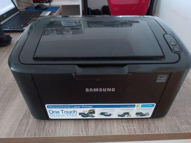 Impressora Samsung Laserjet Ml1665 Com Toner<br> - Foto 3