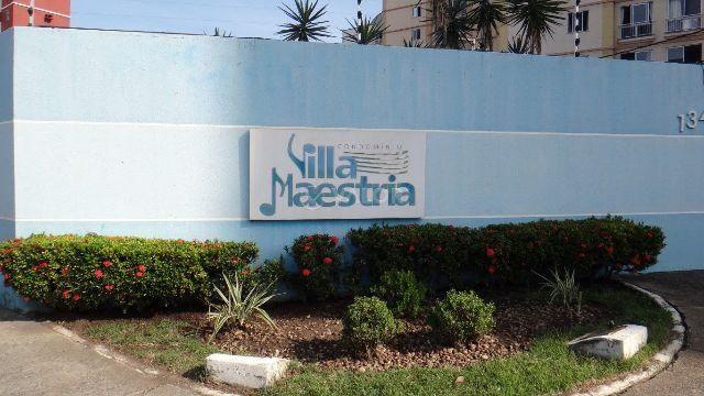 Excelente apartamento com 3/4 condomínio Villa Maestria
