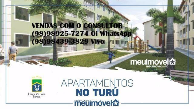 Apartamento no Turu com toda infraestrutura, segurança e com Suite