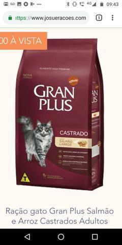 Ração granplus gato 10 kg premium especial ZAP - Foto 3