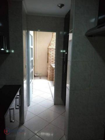 Apartamento com 3 dormitórios à venda, 90 m² por r$ 399.000 - parque das nações - santo an - Foto 9