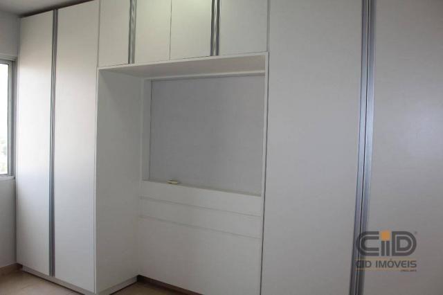 Apartamento duplex com 3 dormitórios para alugar, 108 m² por r$ 1.800/mês - goiabeiras - c - Foto 12