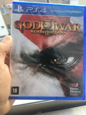 God of war 3 ps4 lacrado novo português Deus da guerra