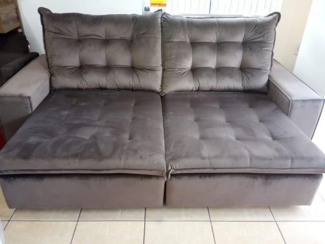 Sofá retrátil e reclinável 2,60