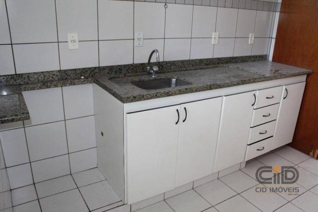 Apartamento com 3 dormitórios para alugar, 92 m² por r$ 1.000/mês - centro sul - cuiabá/mt - Foto 9