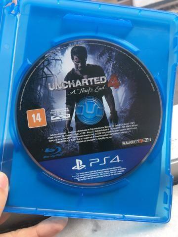 Uncharted 4 ps4 português dublado usado mídia física - Foto 2