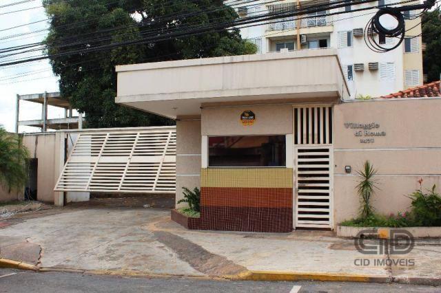 Apartamento com 3 dormitórios para alugar, 92 m² por r$ 1.000/mês - centro sul - cuiabá/mt