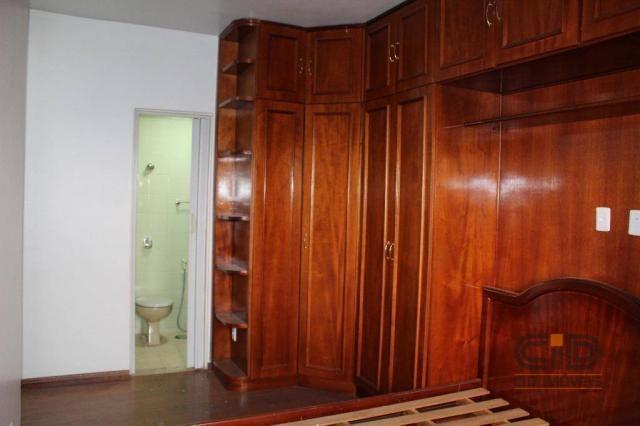 Apartamento com 3 dormitórios para alugar, 120 m² por r$ 1.900,00/mês - miguel sutil - cui - Foto 14