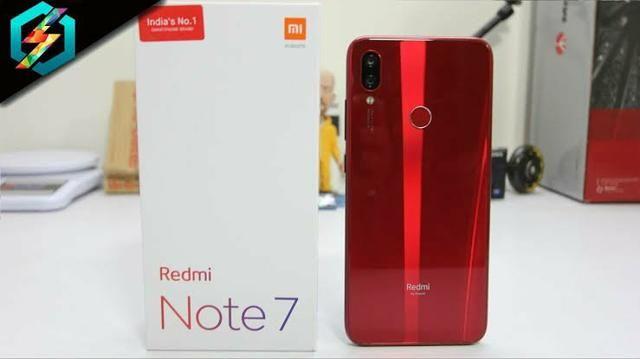 Celular Xiaomi Redmi Note7 Red 64 GB