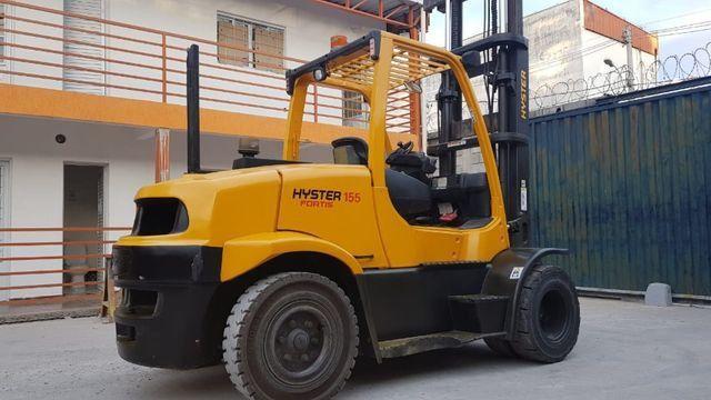 Empilhadeira Hyster FT capacidade 7,0 ton