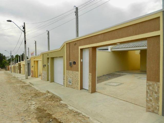 Casa Plana Nascente com 98 m² e 3 Suítes na Messejana - Foto 3