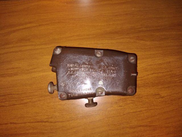 Rádio da segunda guerra mundial mate in usa - Foto 2