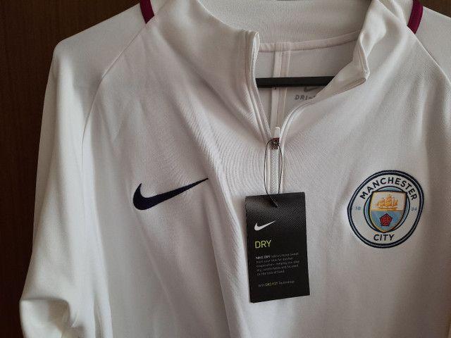 Agasalho Manchester City Nike jogador ORIGINAL