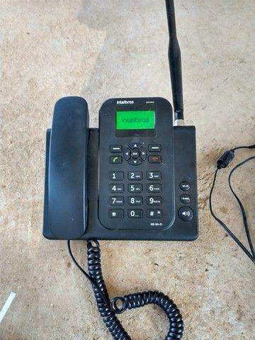 Telefone celular fixo Intelbrás 4G Wi-Fi mais antena externa - Foto 2
