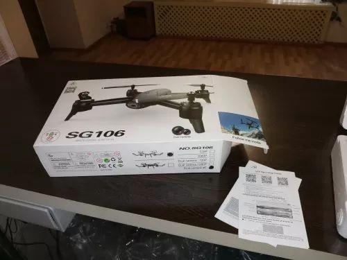 Drone Sg106 com bateria de 22min - Até 12x Com Frete Grátis - SP - Foto 3