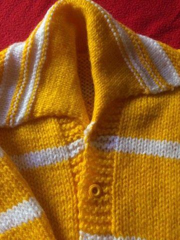 Casaco de lã bem quentinho ! Novo 60 reais  - Foto 3