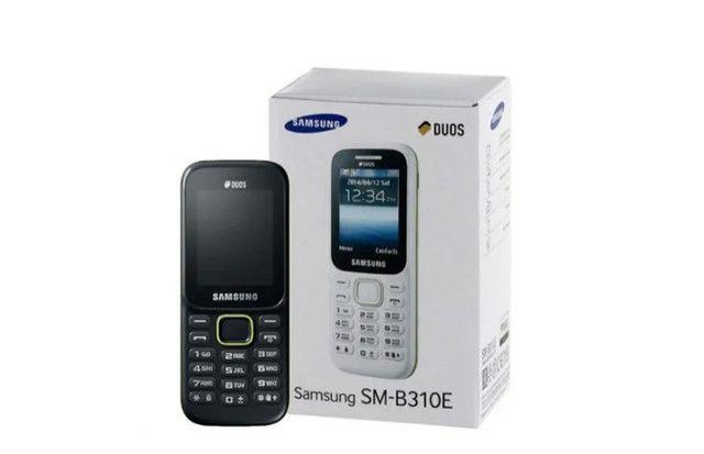 Celular Samsung Radio Fm Dual Sim Idoso Novo Barato Lacrado