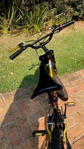 Bicicleta MTB Infantil Kent Hyper 20, Aro 20 - Pouco Usada - Foto 4