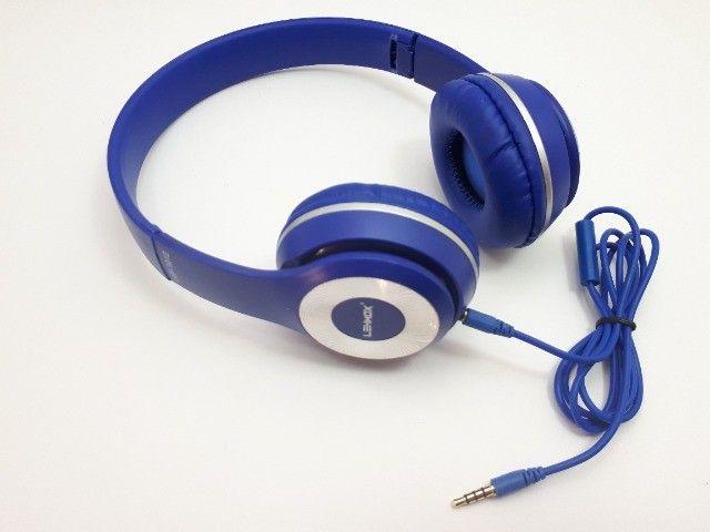 Fone De Ouvido Headphone Para Celular Smartphone P2 Aux Com Fio - Foto 4
