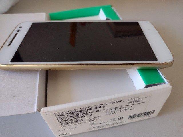 Moto G4 Play Ed. Especial DTV-Branco e Dourado 16GB - Foto 3