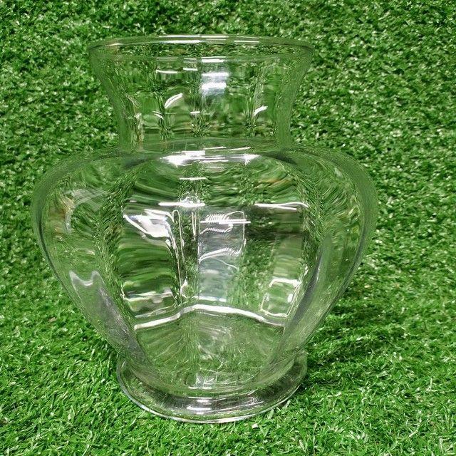 Antigo vaso de vidro Decoração  - Foto 4