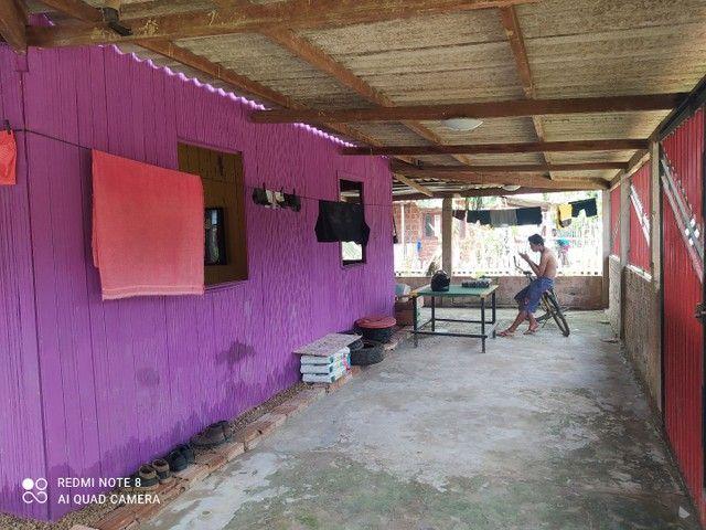 Vendo ou troco em colônia essa casa, fica no santa maria,aceito propostas  - Foto 2