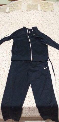 Conjunto Unissex Jaqueta e calça Nike Sport Original na Embalagem - Foto 3