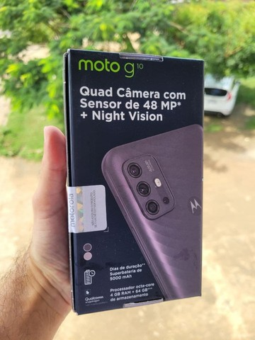 Celular Motorola Moto G10 64GB, Tela 6,5, Novo, Lacrado, Garantia de 1 ano - Foto 2