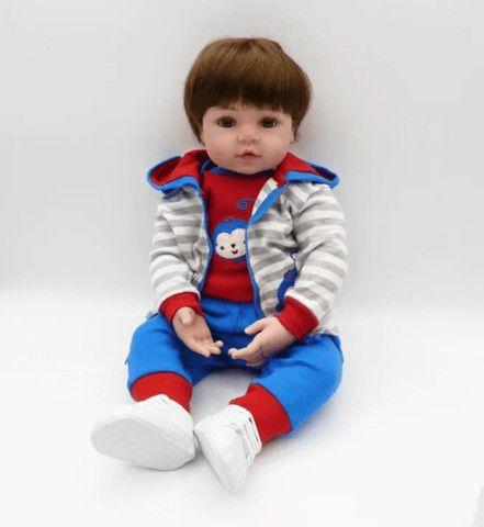 Bebê Reborn menino menininho pronta entrega super fofo - Foto 6