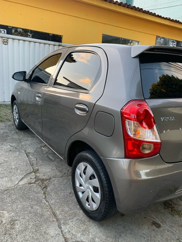 Toyota Etios 1.3 X 16v Flex 5p Manual 2018  - Foto 2