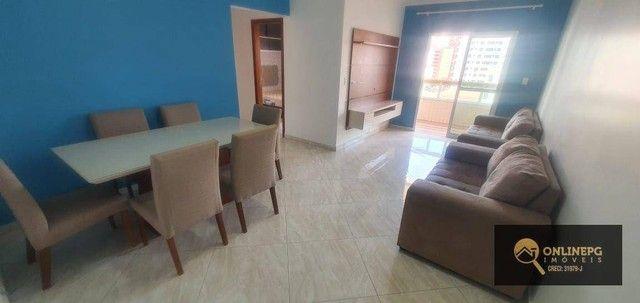Apartamento com 2 dormitórios à venda, 80 m² por R$ 420.000,00 - Vila Tupi - Praia Grande/ - Foto 15