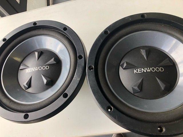 Auto falantes de 12 pol kenwood 800 wats - Foto 5