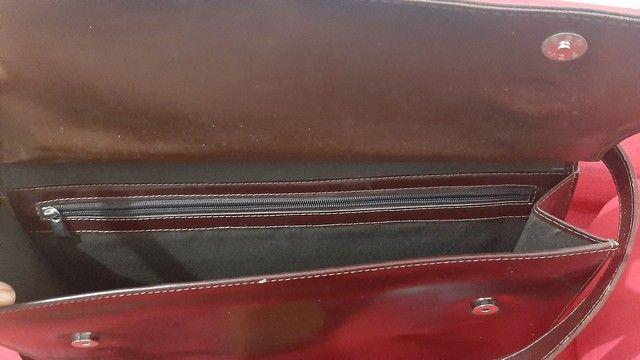 Bolsa em couro - Foto 3