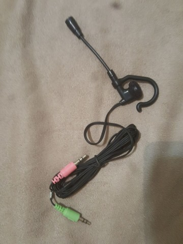 Mini fone de ouvido com microfone - Foto 3