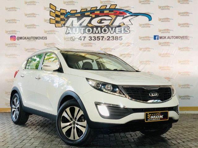Kia Sportage 2.0 EX, Ano 2013, Completa, Couro, automática, baixa km