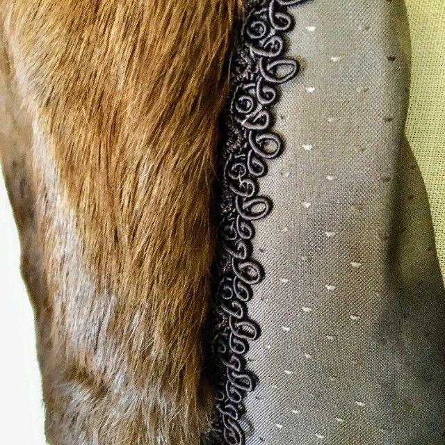 Casacos de Pele de Coelho Tam Médio - Foto 5