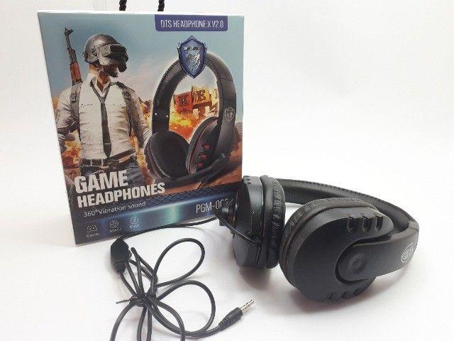 Fone Gamer Headphone Para Celular Ps3 Ps4 Pc Notebook Smartphones - Foto 3