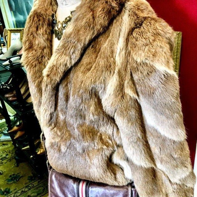Casacos de Pele de Coelho Tam Médio - Foto 2