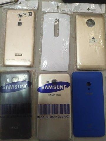 Carcaça e tampas de celular novas e usadas - Foto 2