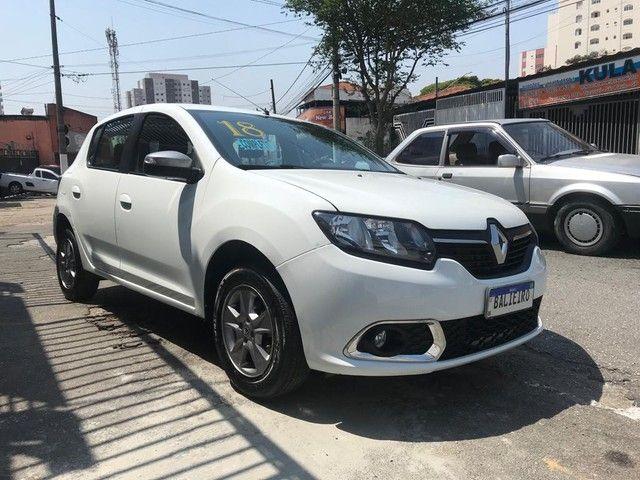 Renault Sandero  Vibe 1.0 12V SCe (Flex) FLEX MANUAL - Foto 6