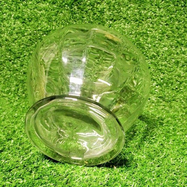 Antigo vaso de vidro Decoração  - Foto 3