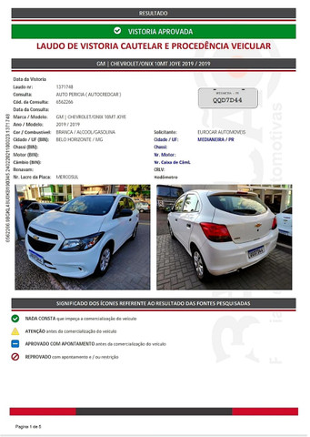 GM - CHEVROLET ONIX HATCH Joy 1.0 8V Flex 5p Mec. - Foto 11